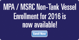 MPA / MSRC Non-Tank Vessel Enrollment for 2014 is Now Available!